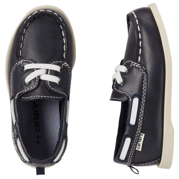 Carter's Other - Carter's Navy Boat Loafer Shoes Toddler Size 11